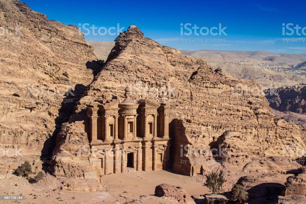 Petra Landscape stock photo