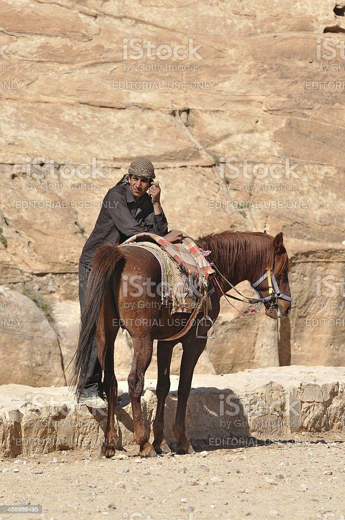 Petra (Jordan) royalty-free stock photo