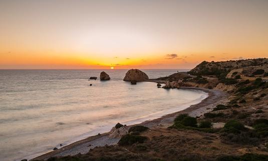 istock Petra tou Romiou, Paphos, Cyprus 910832032
