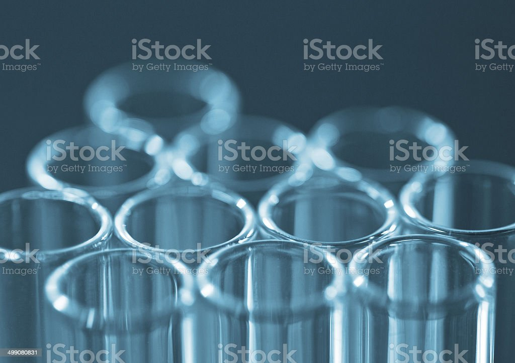 Petri dishes stock photo