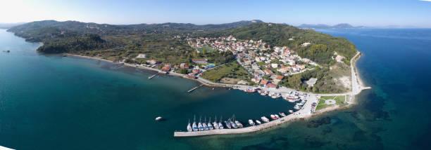 Petriti, Corfu, Greece stock photo