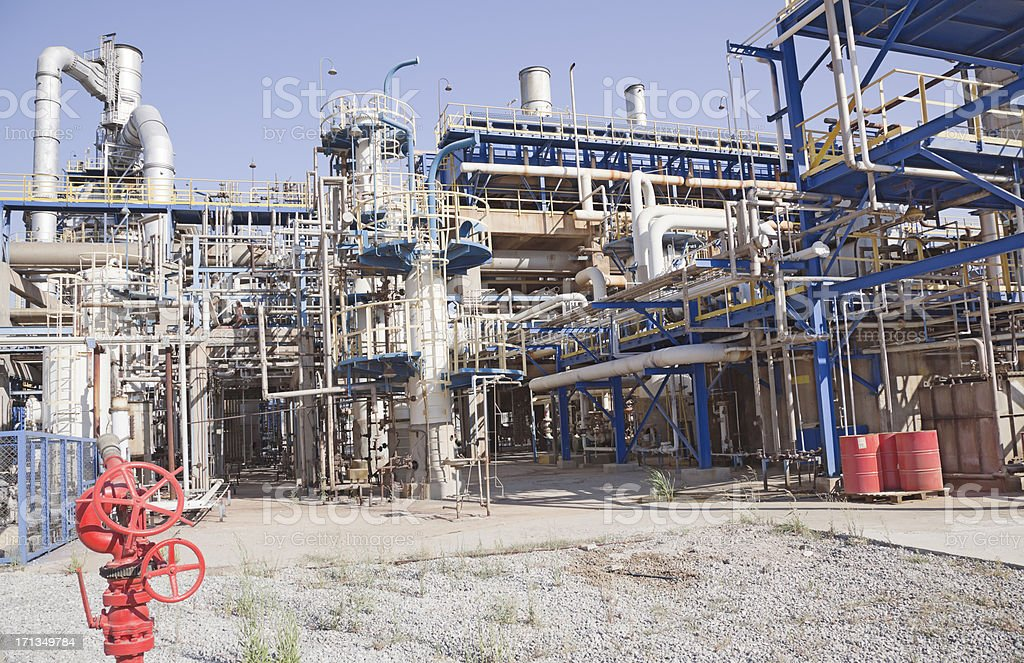 Petrochemische Fabrik – Foto