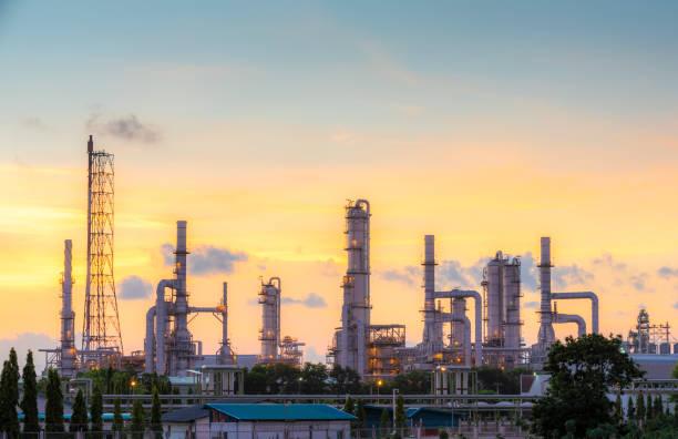 Petrochemische Anlagen in industriell – Foto