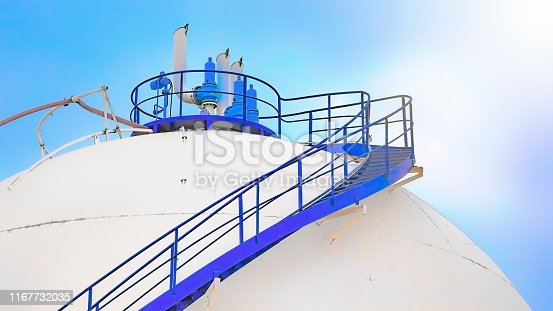Petrochemical storage tank