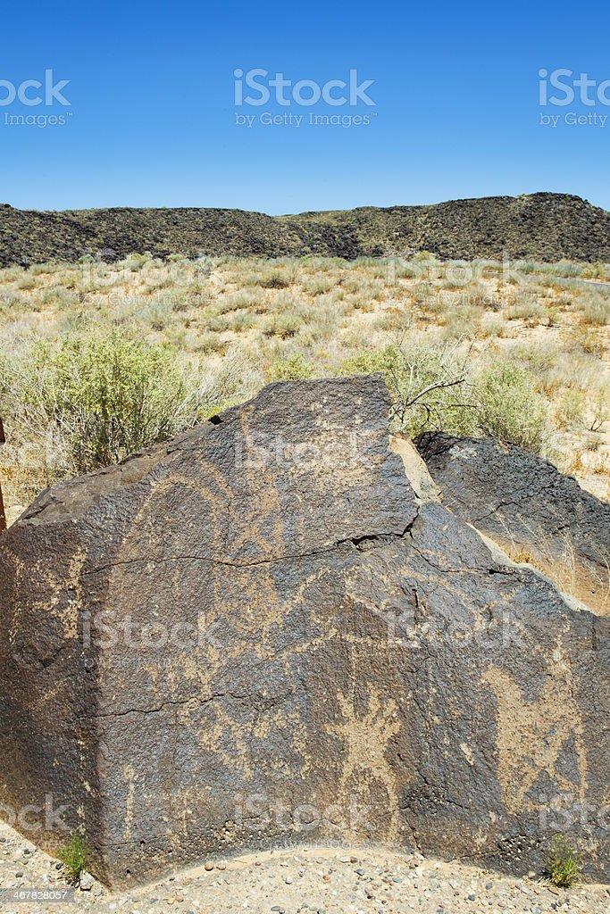 Petroglyph National Monument royalty-free stock photo