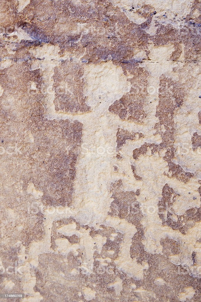 Petroglyphs at Mesa Verde National Park, Colorado royalty-free stock photo