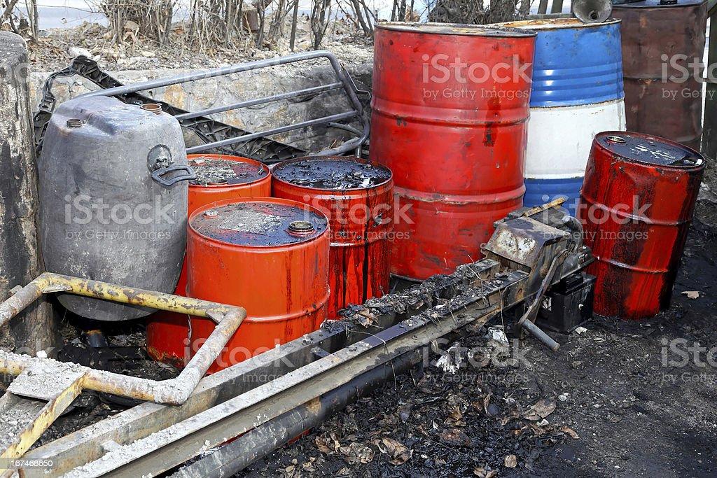 Petrol black market royalty-free stock photo