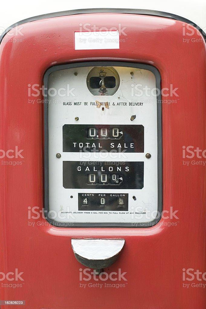 Petrol pump royalty-free stock photo
