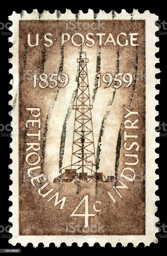 Petroleum Industry (XXL) royalty-free stock photo