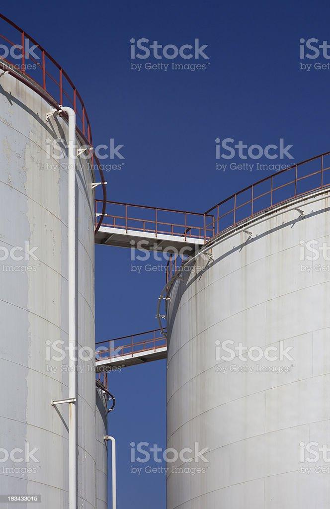 Petroleum Storage Tanks.. royalty-free stock photo