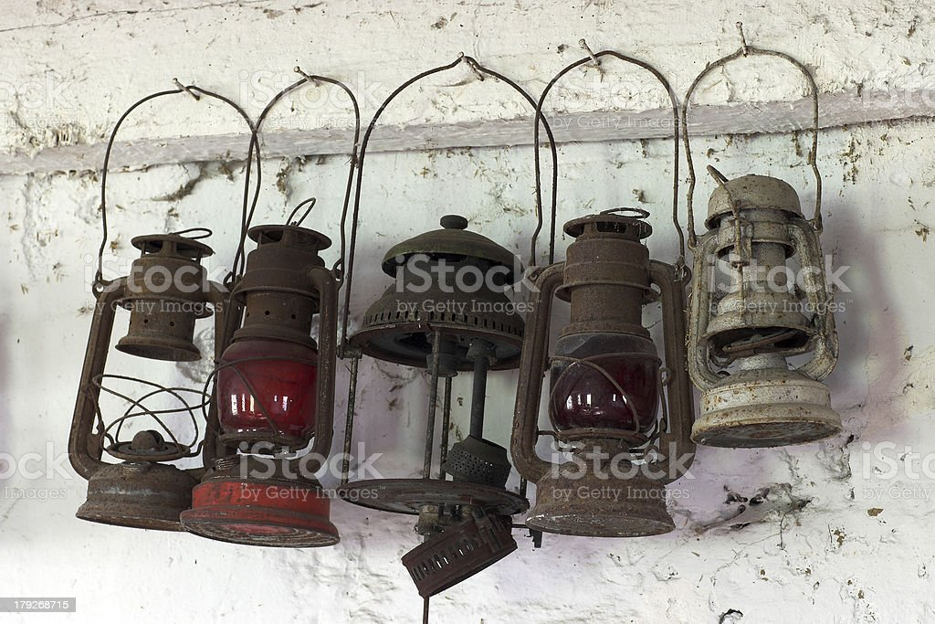 Petroleumlampen Lizenzfreies stock-foto