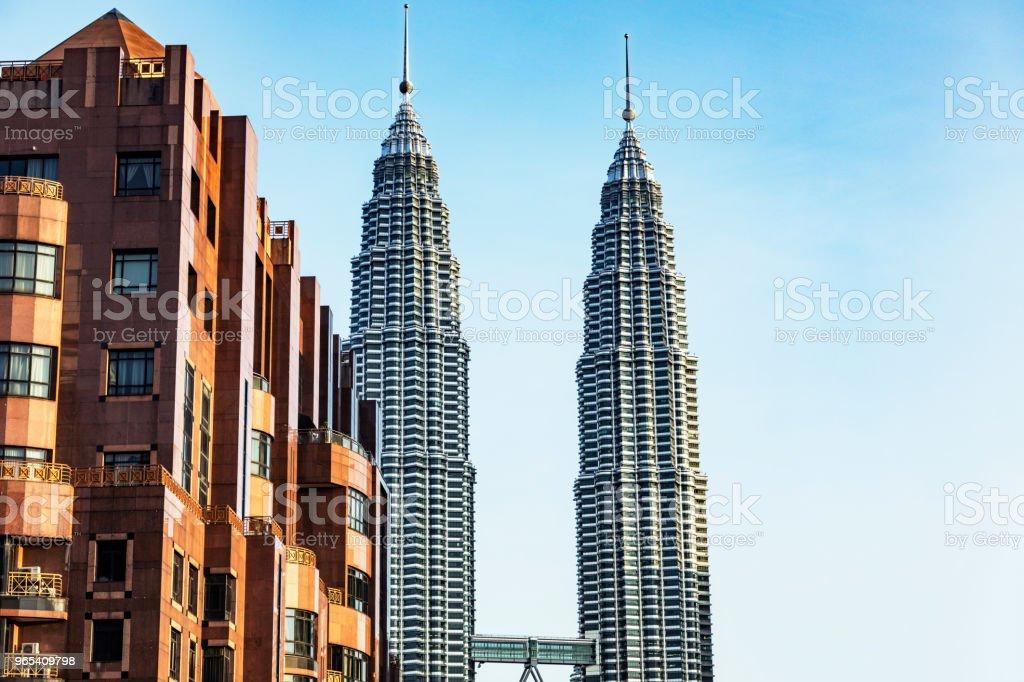 Petronas Towers, Kuala Lumpur, Malaysia royalty-free stock photo