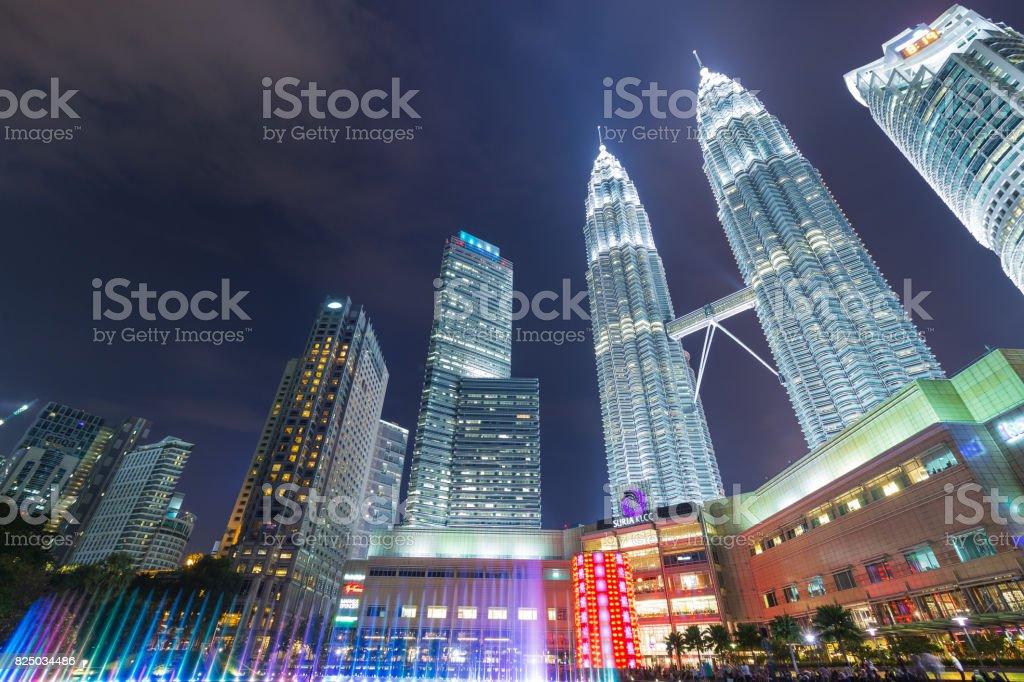 KUALA LUMPUR, MALAYSIA - Januar 15: Petronas Towers – Foto