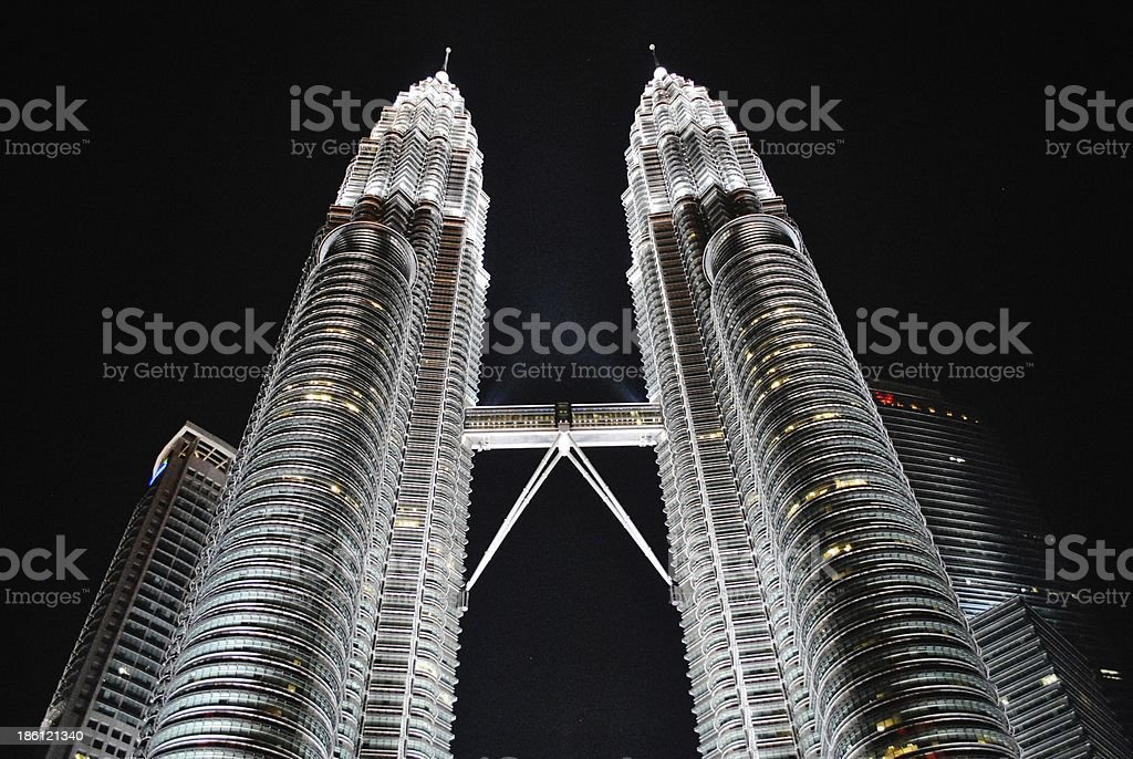 Petronas Towers, Wondrous Elevations of the World royalty-free stock photo