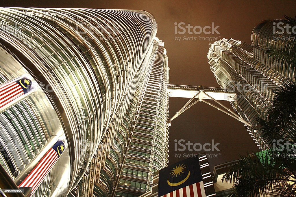 Petronas Twin Towers, Kuala Lumpur - foto de acervo