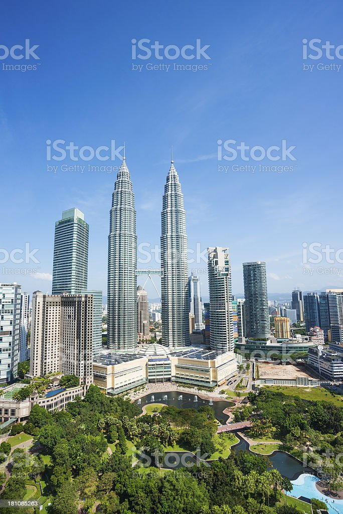 petrons tower royalty-free stock photo
