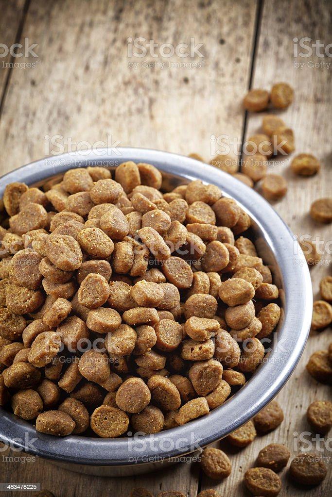 Pets food stock photo