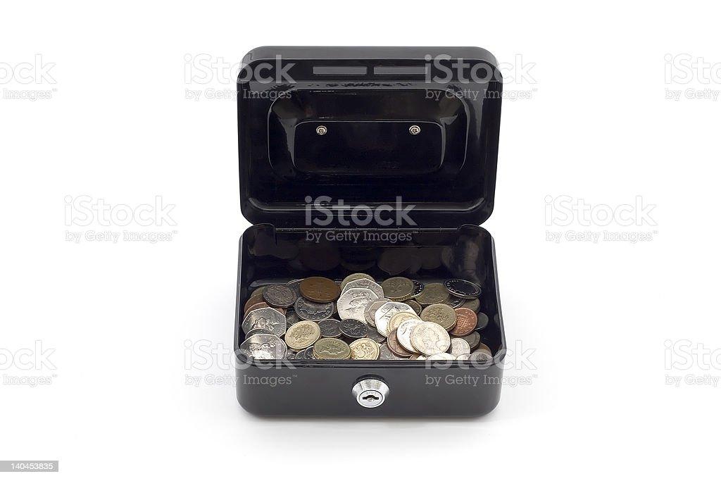 Petty cash royalty-free stock photo