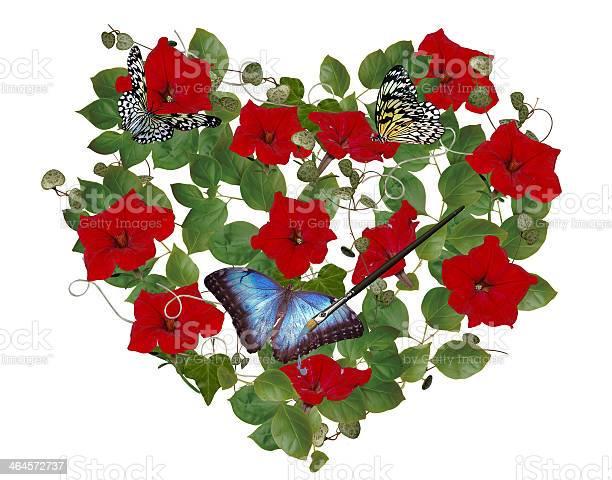 Petunia heart bouquet with butterflies picture id464572737?b=1&k=6&m=464572737&s=612x612&h=kjjyedjcx0cny1pmbqh6otbfwfyt5rik 0tgtaazi58=
