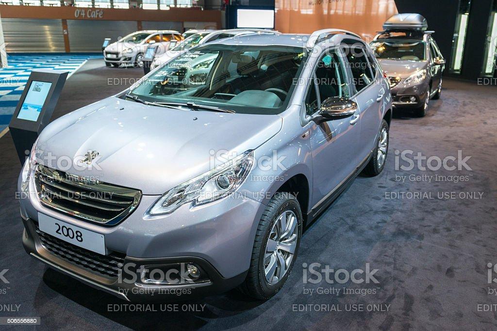 Peugeot 2008 compact SUV stock photo