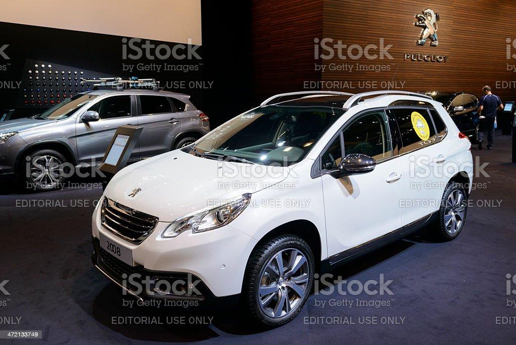 Peugeot 2008 stock photo