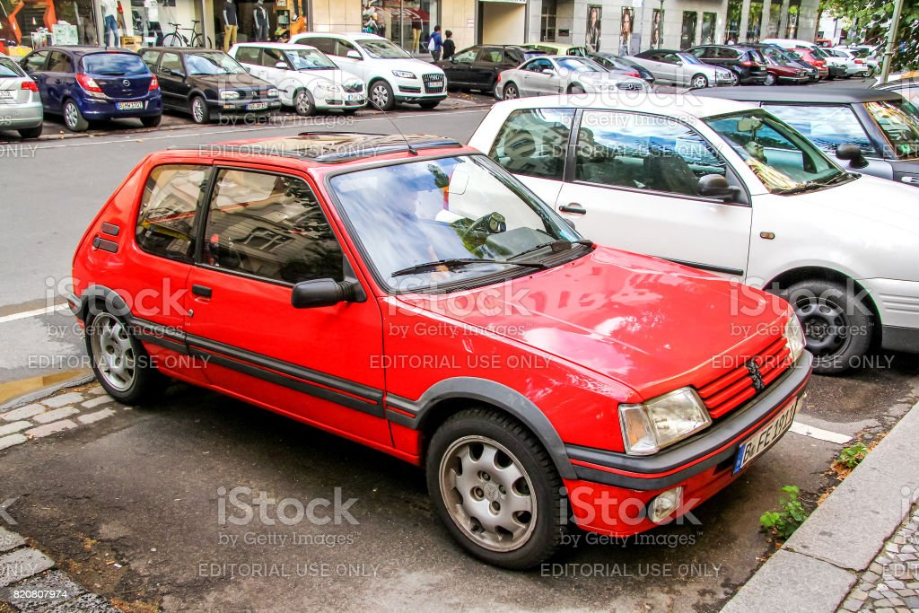Peugeot 205 stock photo