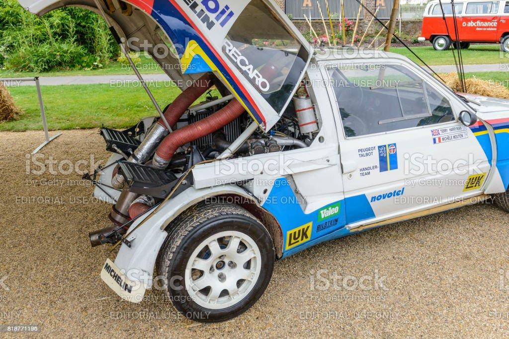 Peugeot 205 T16 Gruppe B Rallye Automotor Stock-Fotografie und mehr ...