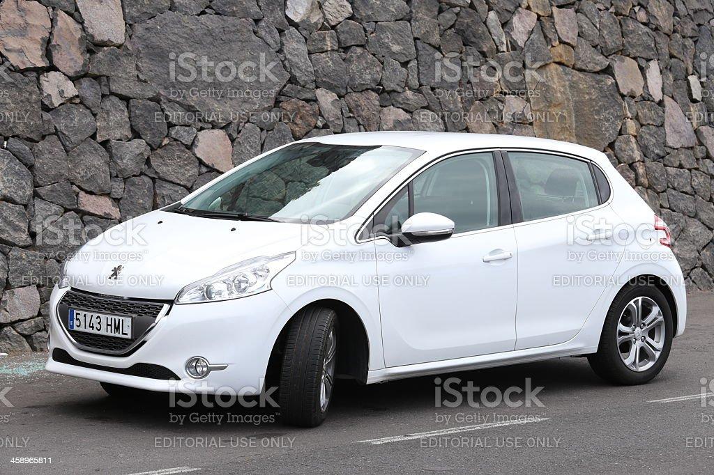 Peugeot 208 stock photo