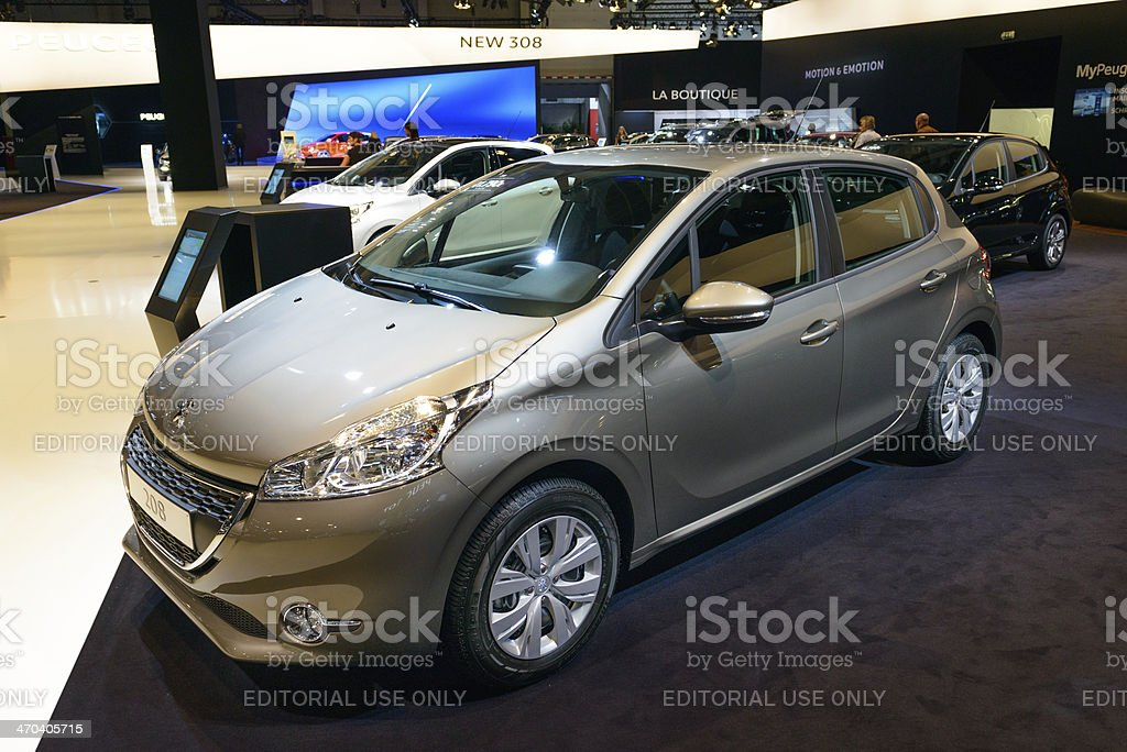 Peugeot 208 royalty-free stock photo