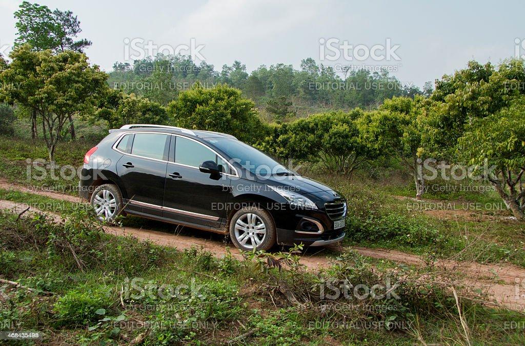 Peugeot 3008 car stock photo