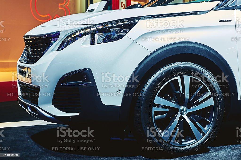 2017 Peugeot 3008 GT Line stock photo