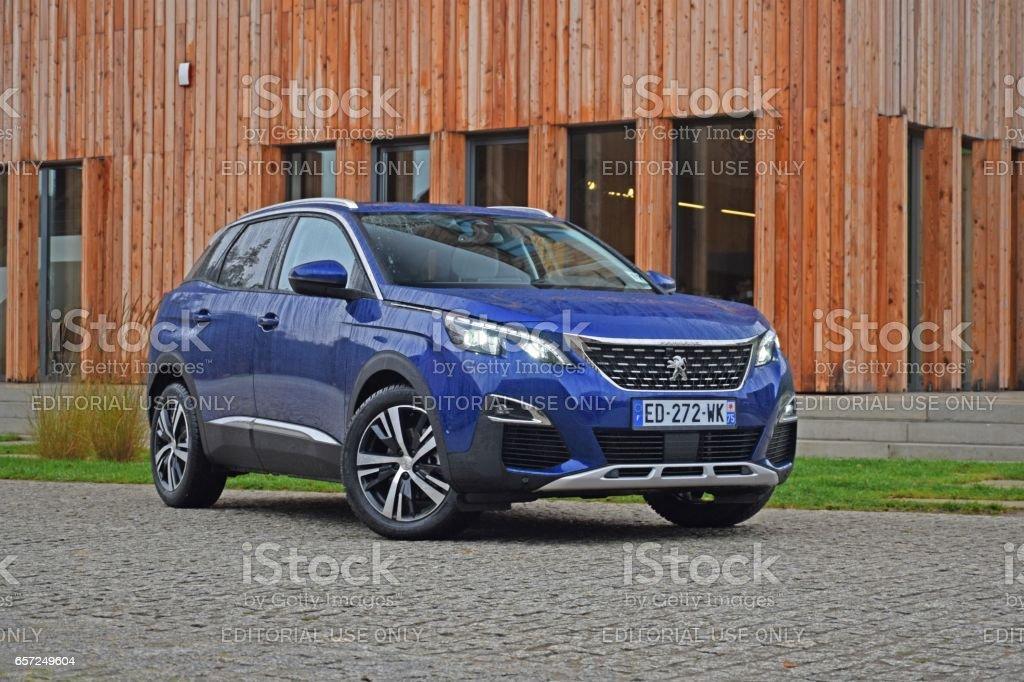 Peugeot 3008 stock photo