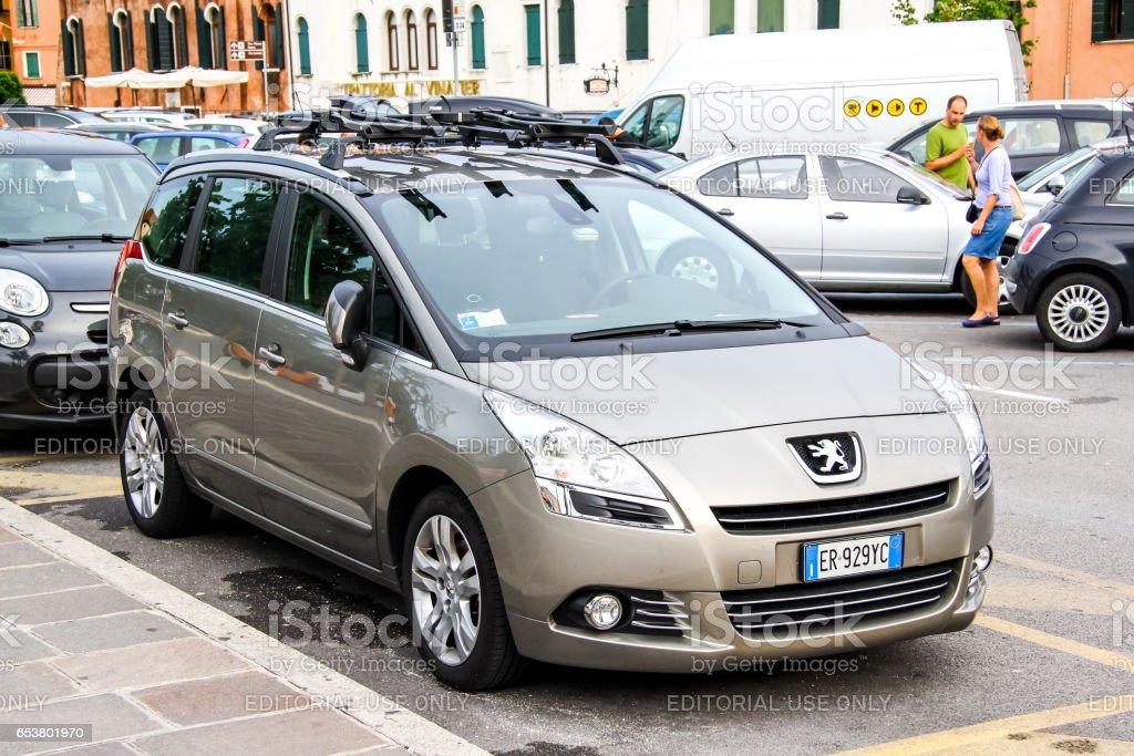Peugeot 5008 stock photo