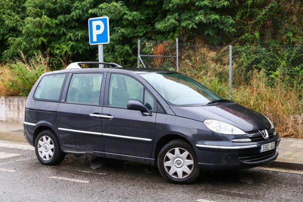 Peugeot 807 stock photo