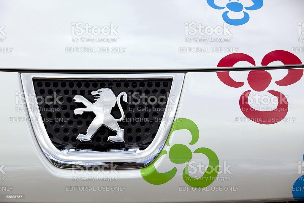 Peugeot Logo stock photo