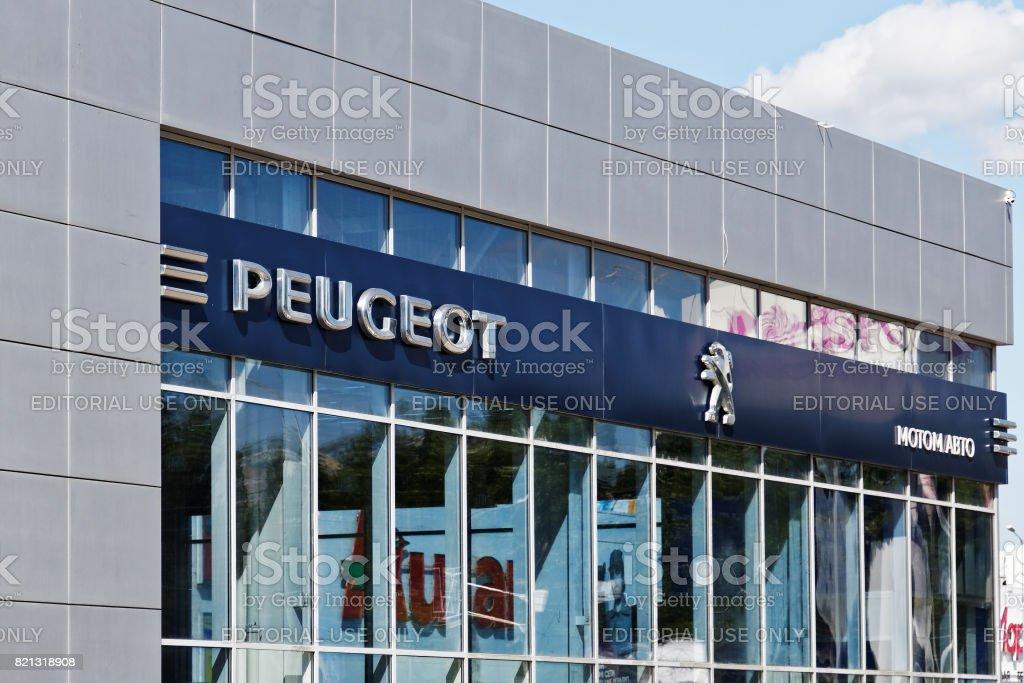 Peugeot unterzeichnen am Aufbau des Service-Centers. – Foto