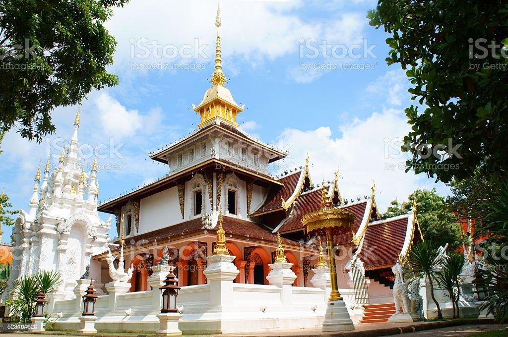 Phadarabhirom Temple stock photo