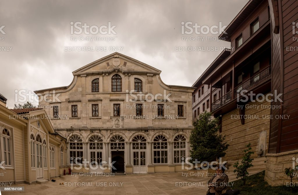Phanar Greek Orthodox College known in Greek as Great School of Nation stock photo