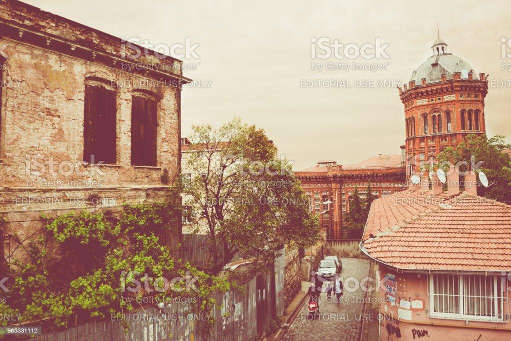 민족의 큰 학교로 그리스에서 알려진 Phanar 그리스 정교 대학 - 로열티 프리 Empire 스톡 사진