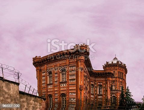 Phanar Greek Orthodox College Known In Greek As Great School Of Nation Stock Photo & More Pictures of Architecture