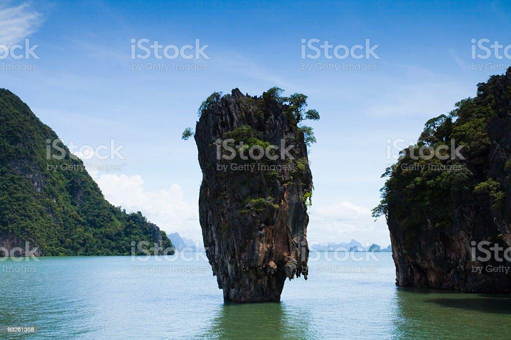 Phang Nga Bay in Thailand royalty-free stock photo