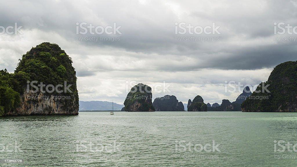 phang nga bay, thailand royalty-free stock photo