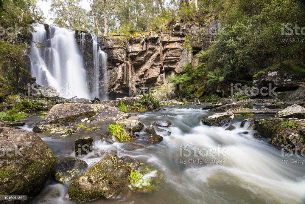Phantom Falls Cape Otway stock photo