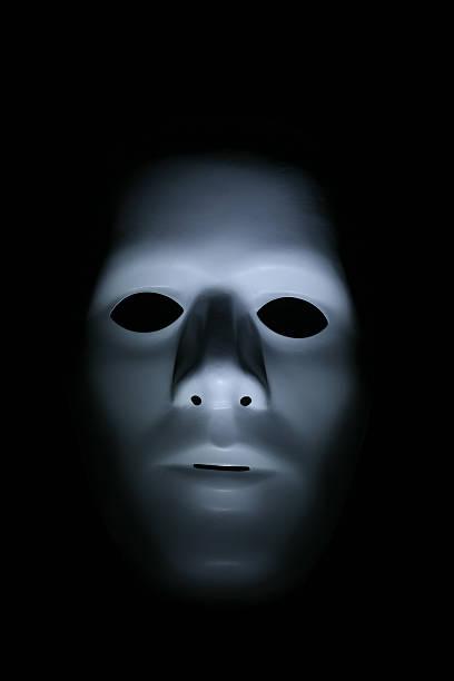 Phantom mask stock photo