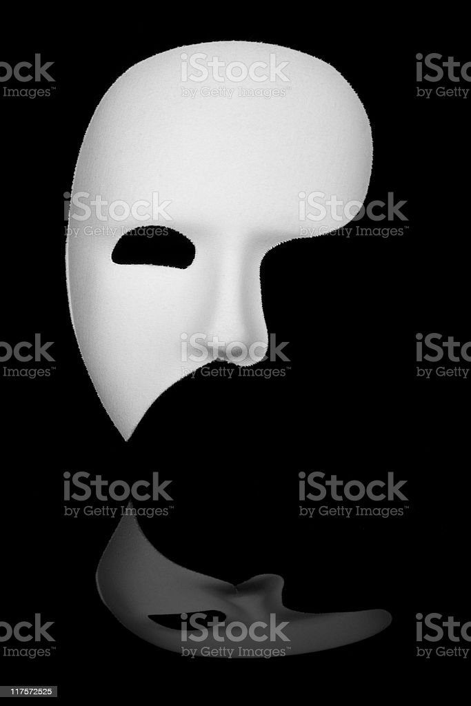 Phantom of the Opera Mask stock photo