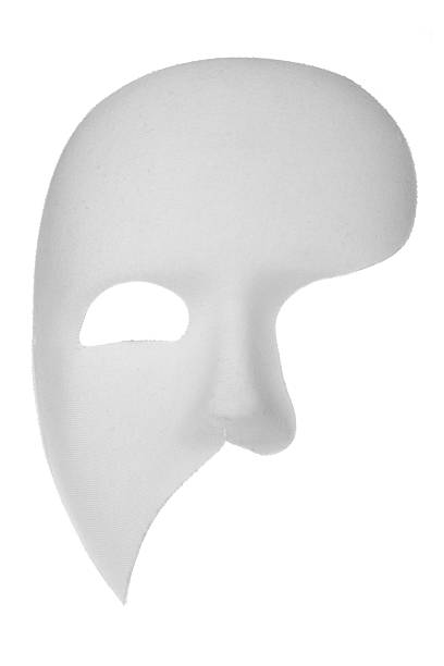 phantom of the opera mask - opera stock photos and pictures