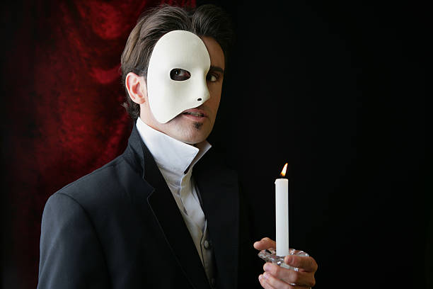 phantom of the opera - opera stock photos and pictures