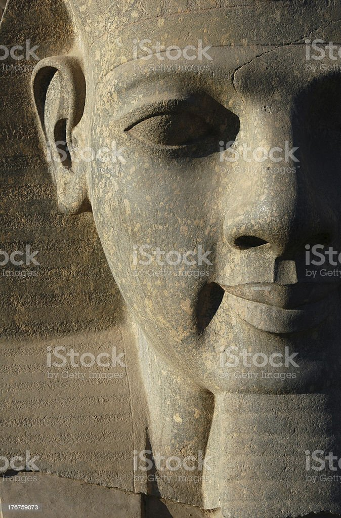 Pharaoh Ramses II stock photo