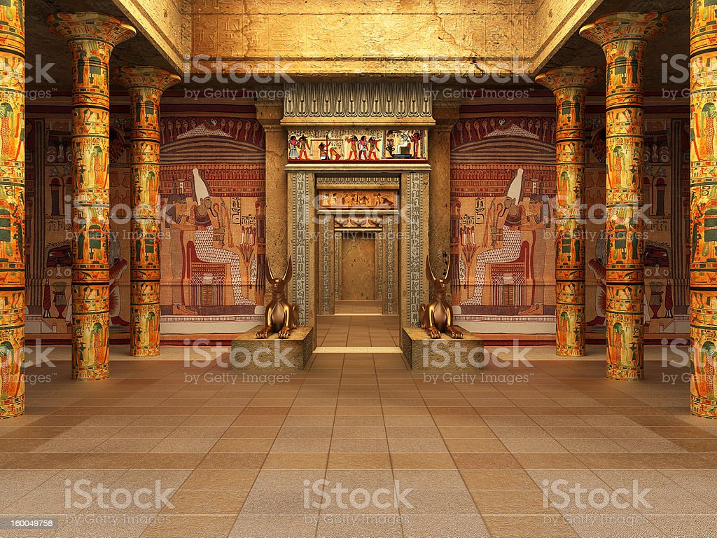 Pharaoh's Tomb stock photo