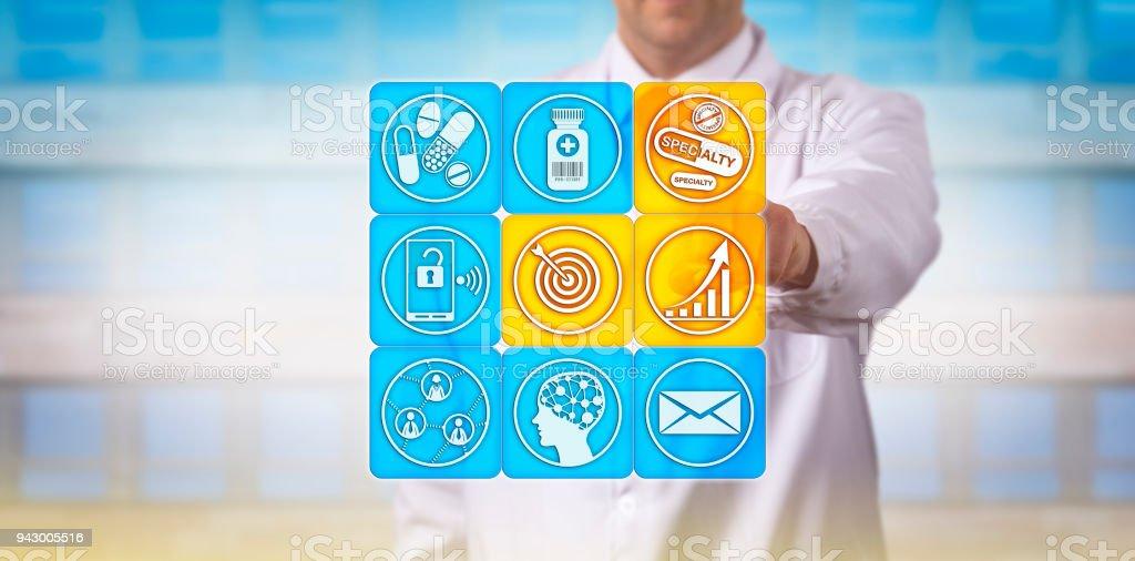Pharma Distributor Targets Specialty Drug Market stock photo